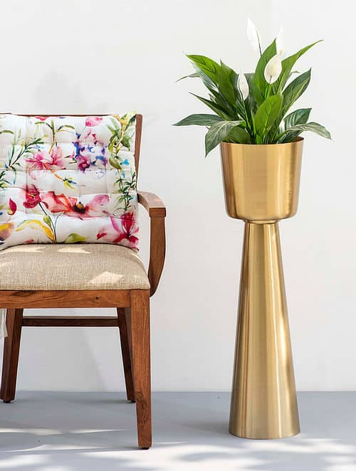 Sunrise Gold Planter by the decor remedy