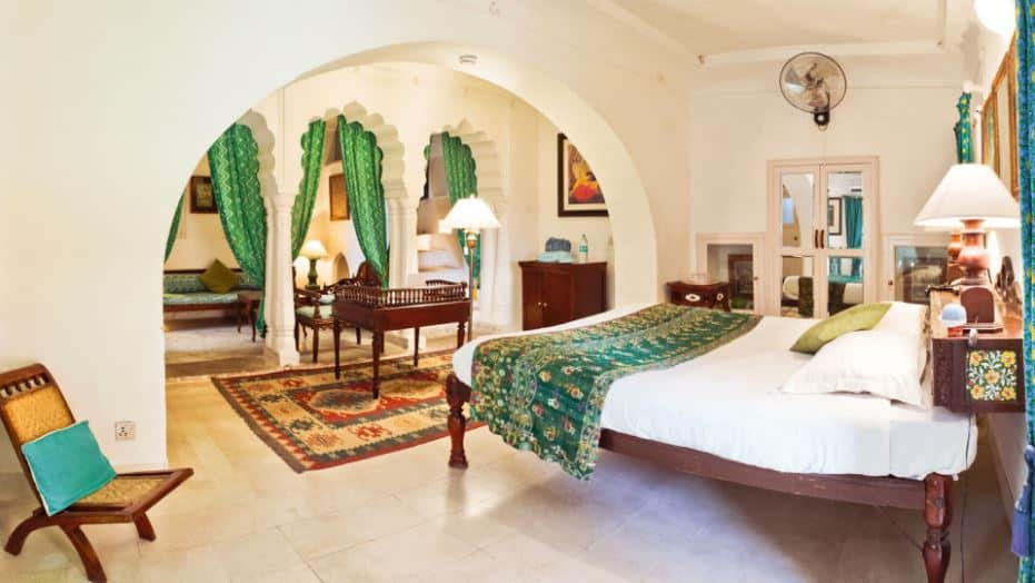 classic royal indian bedroom