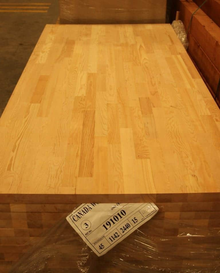 Western hemlock FJEG board, canadian wood engineered wood products, Indian wood