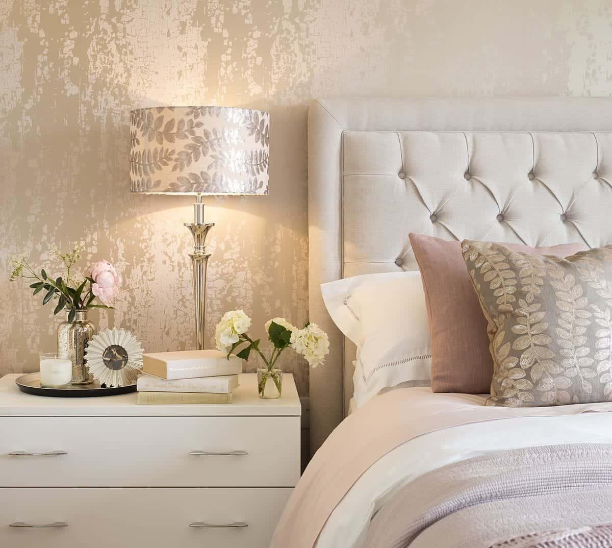 metallic wallpaper design
