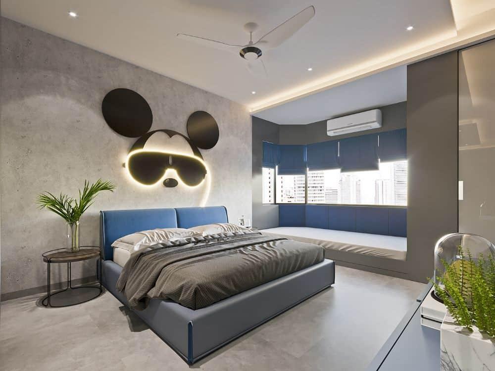 kids bedroom false ceiling design