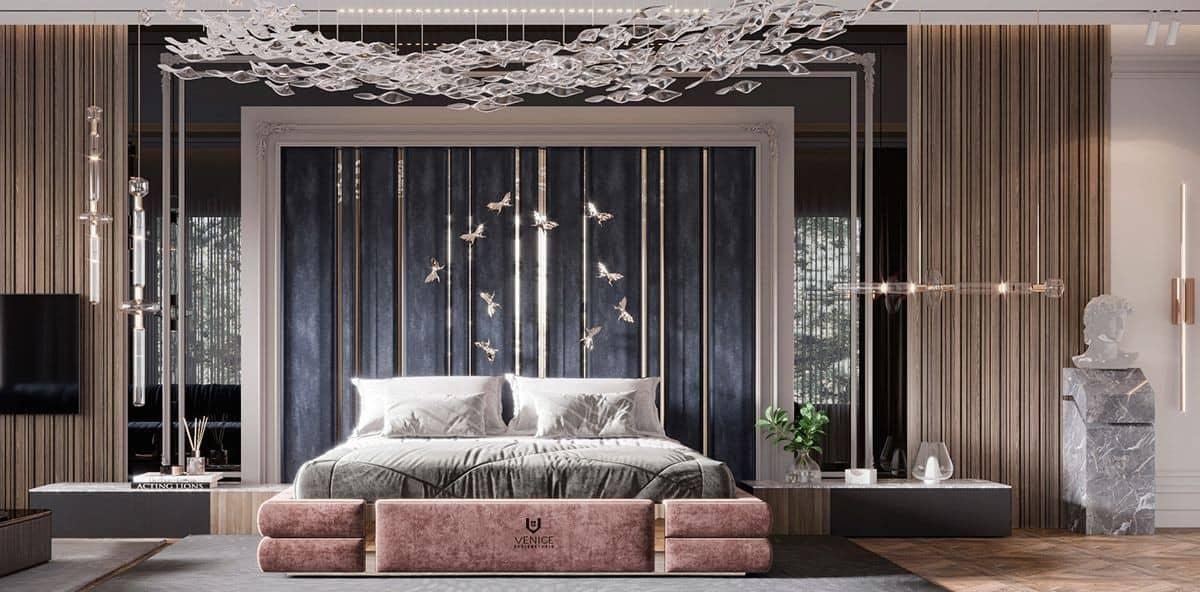 bedroom false ceiling design; luxury bedroom