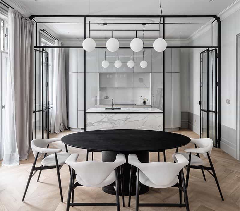 glass partition wall design