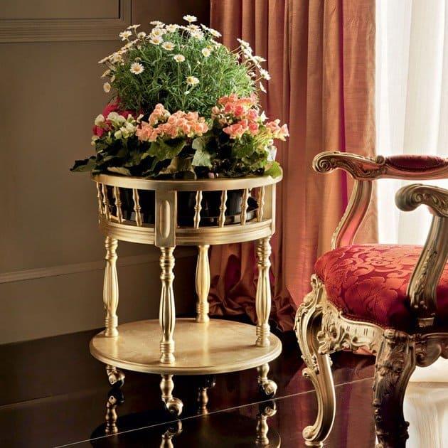 Solid wood plant pot suitable for bonsai