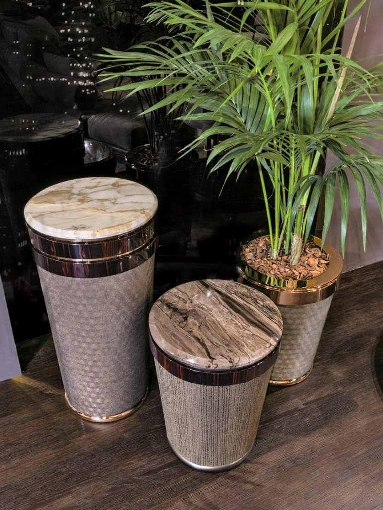 ceramic pot for indoor plantthat doubles up as coffee table