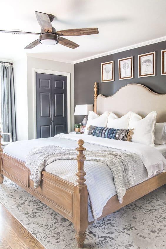 Designer ceiling fan for bedroom