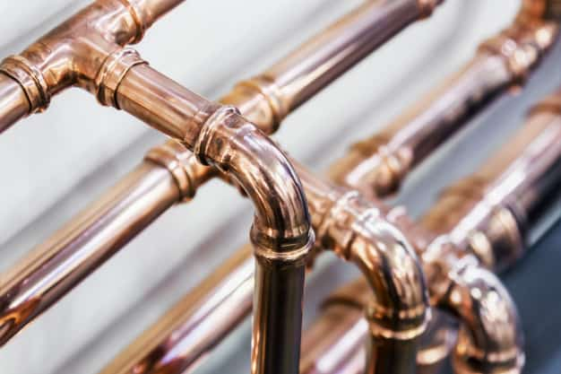 copper piping system