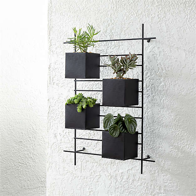4 Box Wall Mounted Indoor/Outdoor Planter