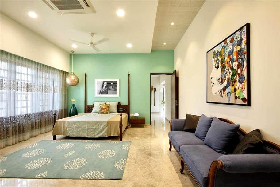 simple indian bedroom; bedroom false ceiling design