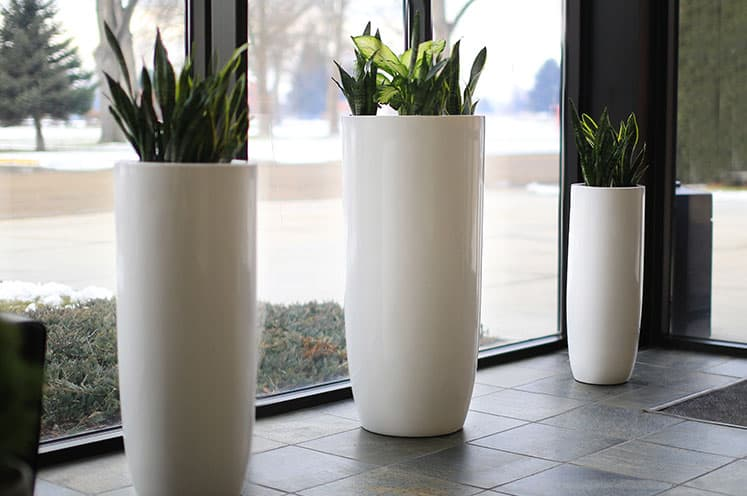 Tall Extra Large Round Planter