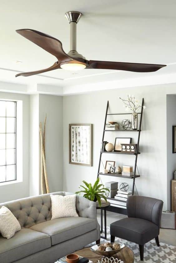Enhanced efficiency with fans with lighting fixtures