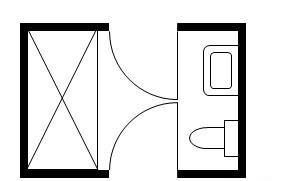 jack and jill layout