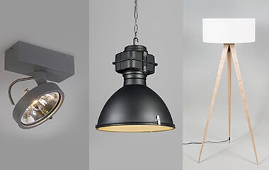 types of lamps for home, light fixtures