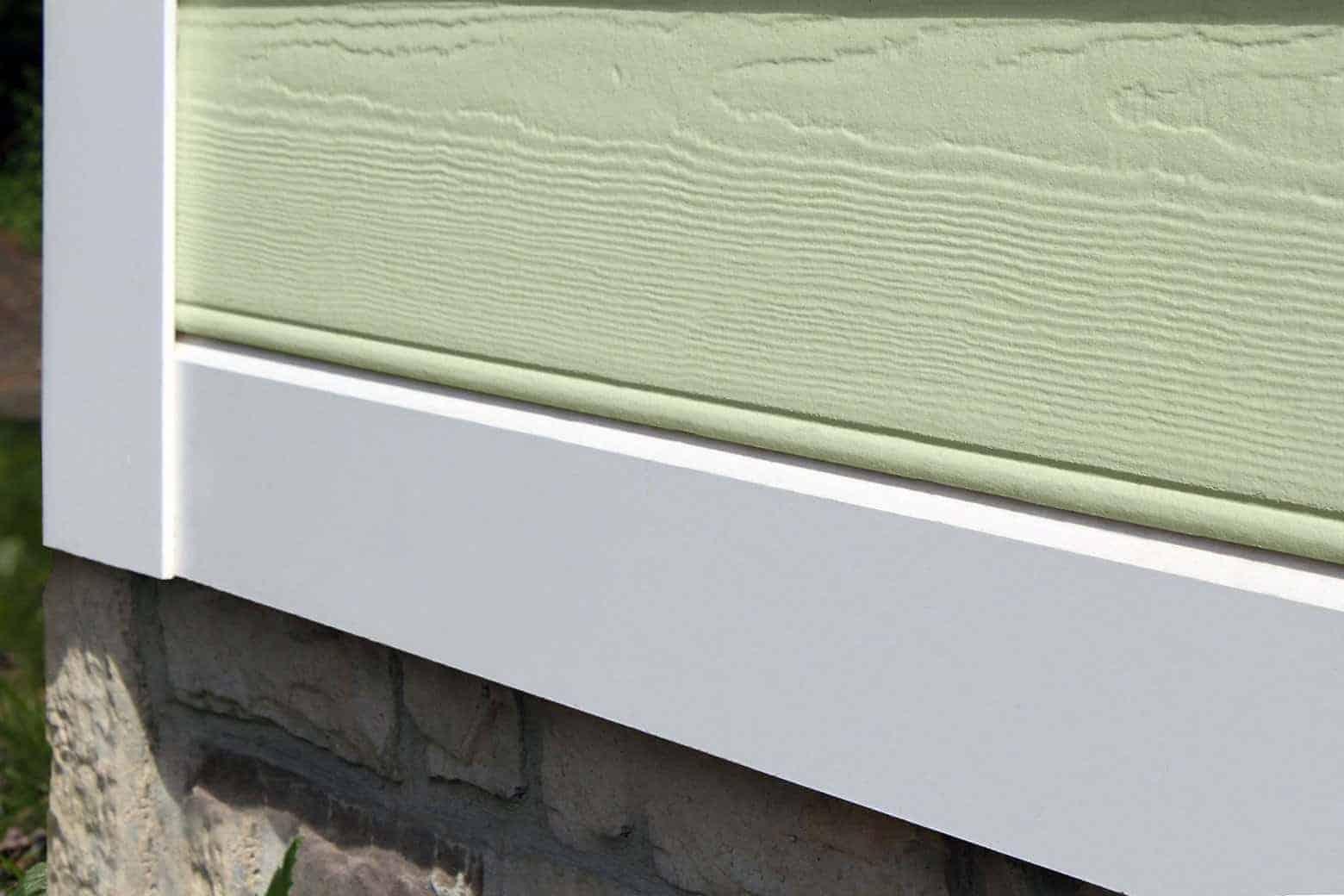 PVC skirtboard design