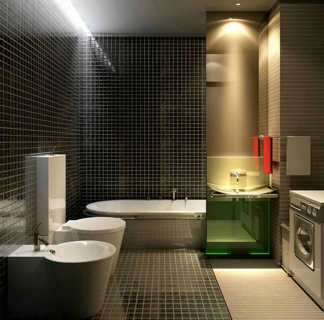 bathroom ceiling lighting design